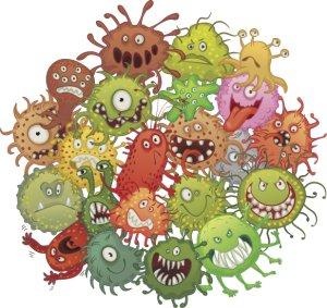 Baktériumok - A baktériumok elszaporodása okoz-e fogyást